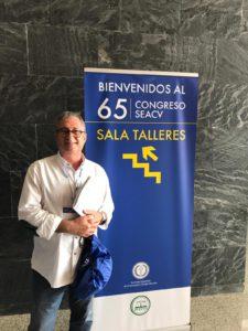 Dr Valentín Fernández en 65º Congreso Nacional de la SEACV