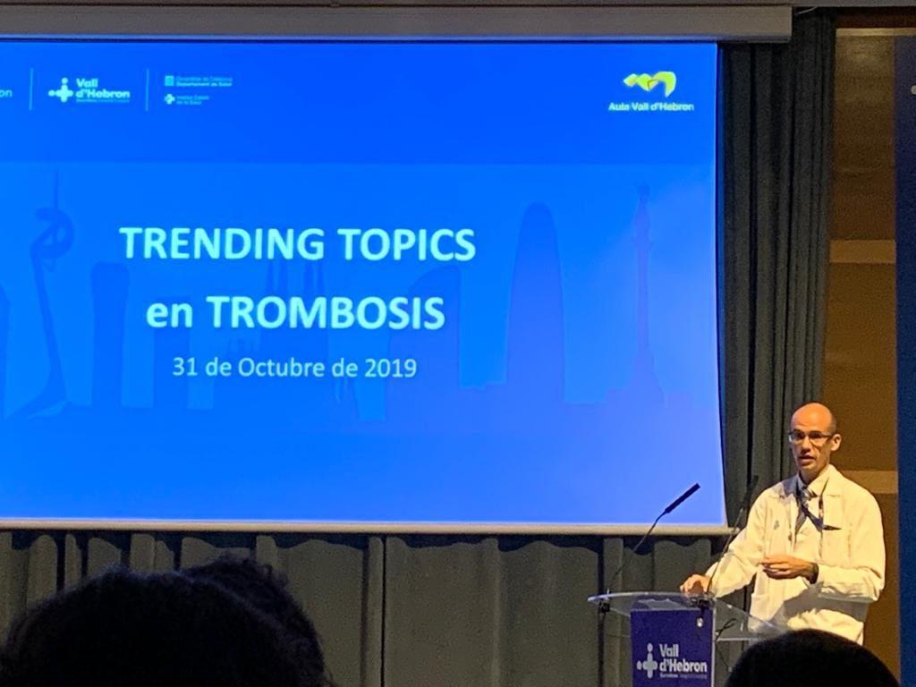 Jornada Trending Topics en Trombosis